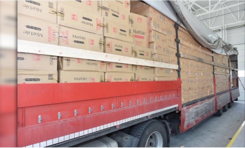 Запленети 16,5 тони цигари и 13 тони тутун на македонските граници