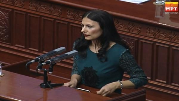Манаскова:Власта не дозволува да се дискутира за проблемот со Охрид