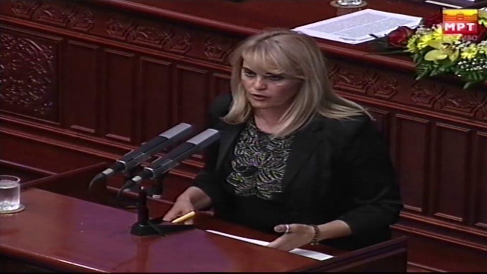 Затуровска до Заев: Барем еднаш почитувајте си го зборот и оставете опозицијата да предложи Јавен обвинител па после реагирајте