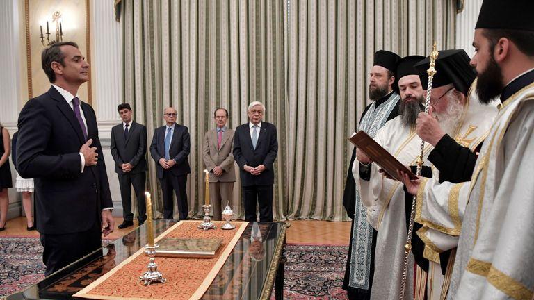 Новата грчка влада положи свечена заклетва