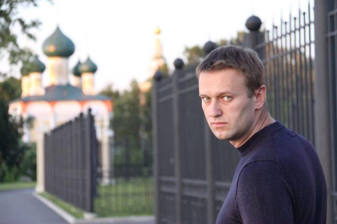 Московската полиција повторно го приведе опозиционерот Навални