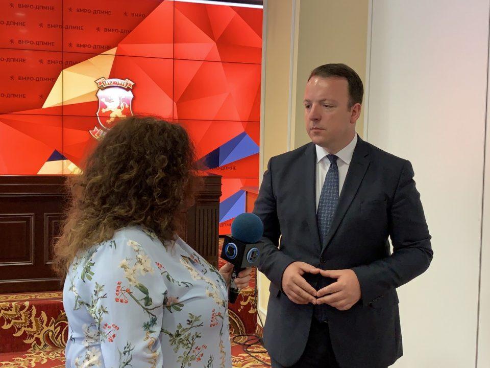 Николоски:Услов без кој не може да се оди на лидерска е одредување на датум за предвремени избори