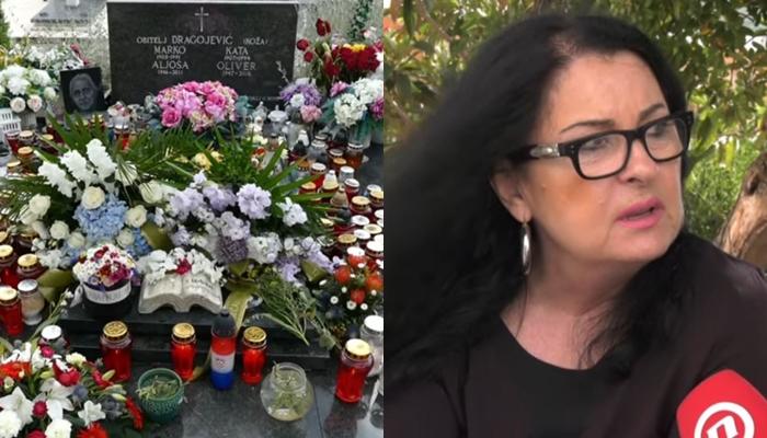 Од овој детаљ кој осамнал на гробот на Оливер Драгојевиќ ќе роните солзи- неговата сопруга откри и кој го оставил тоа (ВИДЕО)