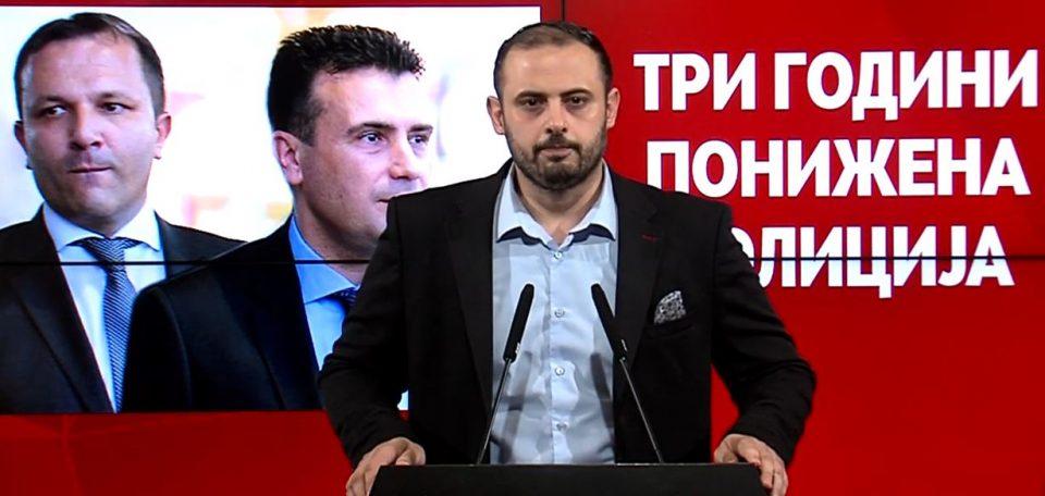 Ѓорѓиевски: Спасовски го третира МВР како партиски огранок на СДСМ, само што штетата ја плаќаме сите и со нарушената безбедност и со парите на државата