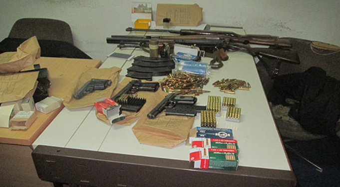 Скопјанец обвинет затоа што во домот држел муниција