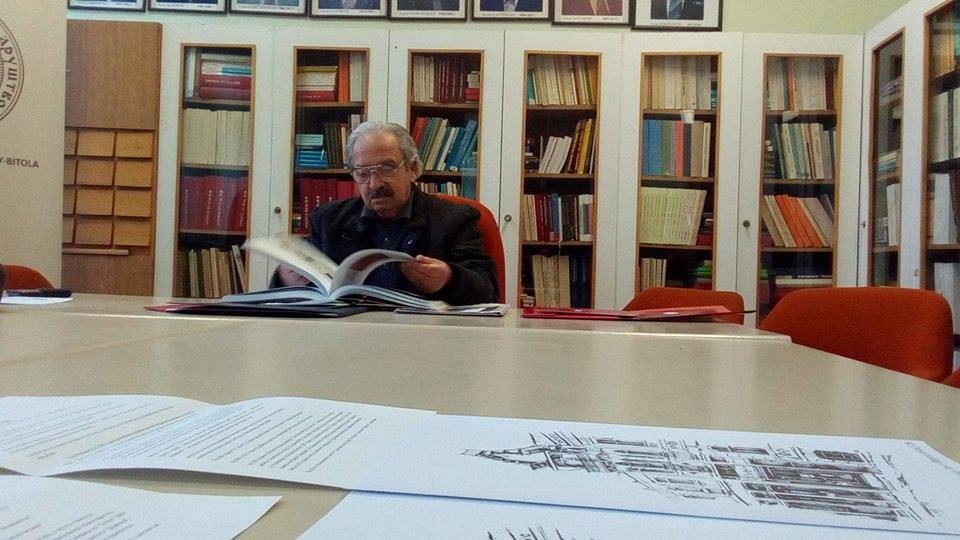 Ликовна изложба: 60 години творештво на битолчанецот Панде Петровски