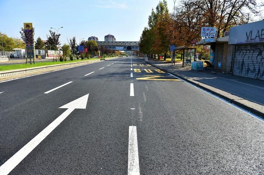 """Од денеска: Дел од """"Партизанска"""" затворен за сообраќај ќе се пренасочуваат и автобуси"""