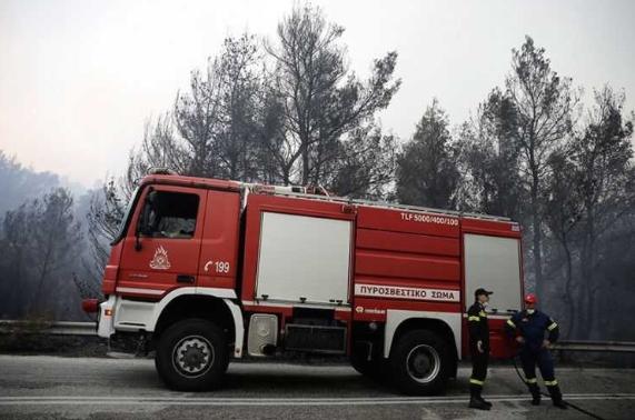 Детали за вчерашниот пожар во Атика: Уапсено едно лице