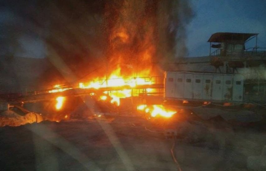 Пожар во рудникот за јаглен Суводол: РЕК Битола со штета од стотици илјади евра! (ФОТО)