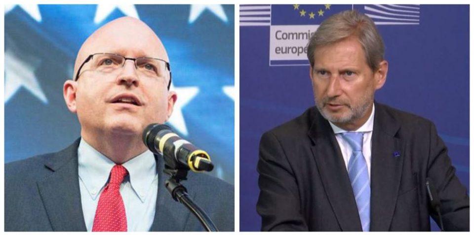Хан и Рикер доаѓаат во Скопје на средби со власта и опозицијата