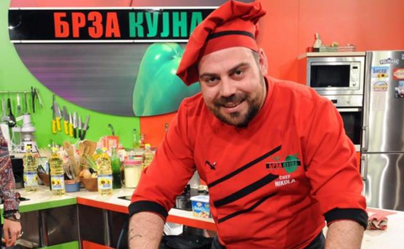 Шеф Никола рипна во тавче: Се ожени познатиот македонски готвач (ФОТО)