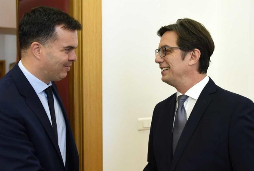 Средба на претседателот Пендаровски со унгарскиот амбасадор Дукс