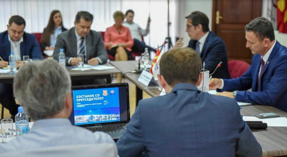 Посета на претседателот Пендаровски на Стопанската комора на Северо-Западна Македонија