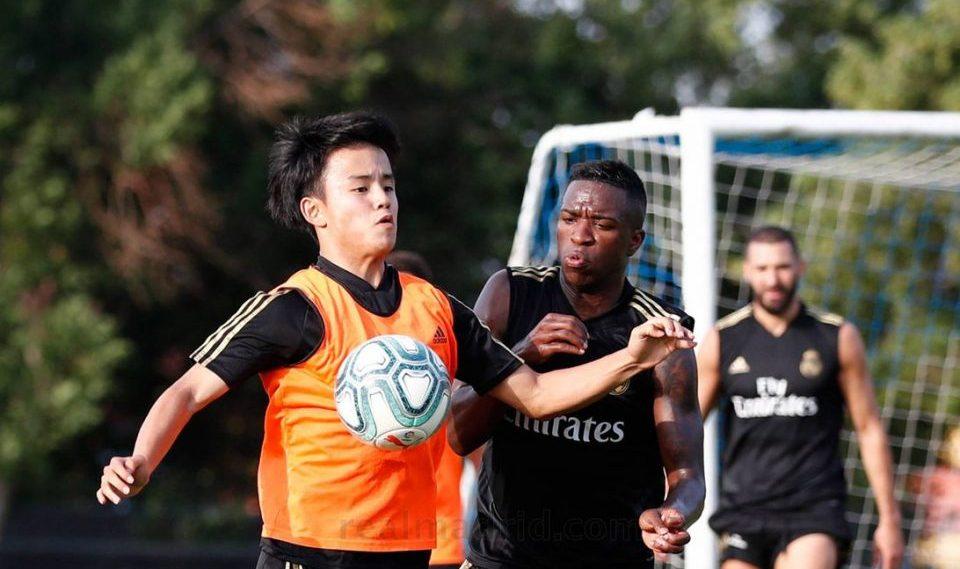 ВИДЕО: Јапонскиот Меси направи шоу на тренингот на Реал Мадрид
