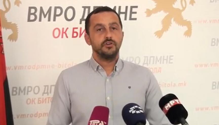 """Тошевски: Петровска и СДСМ го достигнаа врвот на лицемерието и лагите, """"Копанки"""" повеќе не е во сопственост на ПСК Пелистер"""