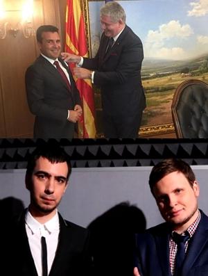 НЕ МУ Е ПРВПАТ ДА ГО НАСАМАРАТ: Со Заев се мајтапеа новинар, лажен принц и комичари (ВИДЕО)