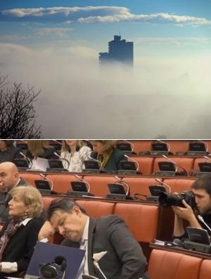 Загаденоста во Скопје ја побива парадоксалната изјава на Макрадули дека градот е загаден само во зимо- Карпош денеска најзагаден (ФОТО)