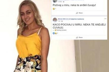 ФОТО: Катарина настрада во страшната несреќа во Србија- Пријателите со потресни пораки се збогуваат од неа