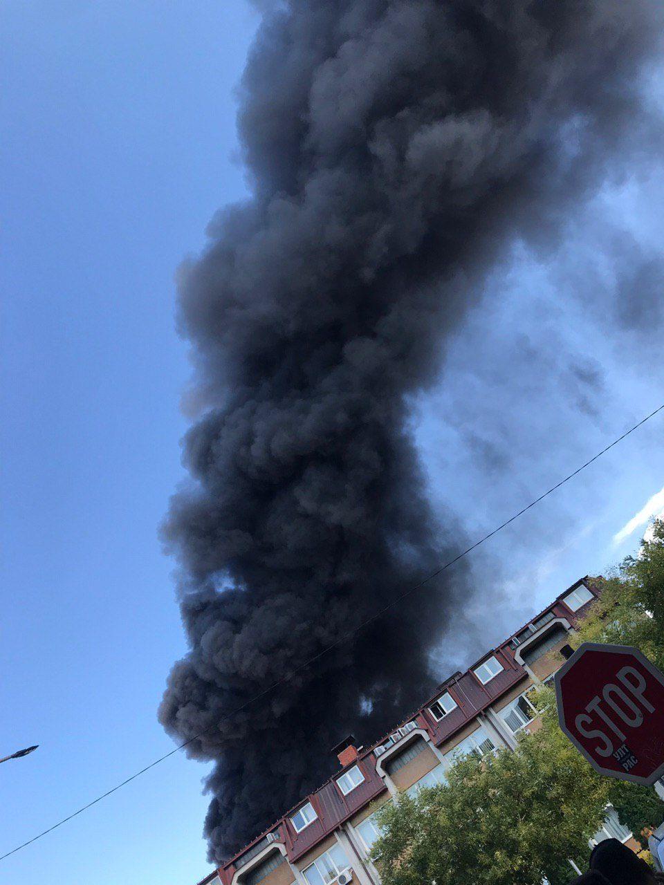 Фотографии од пожарот во Струмица