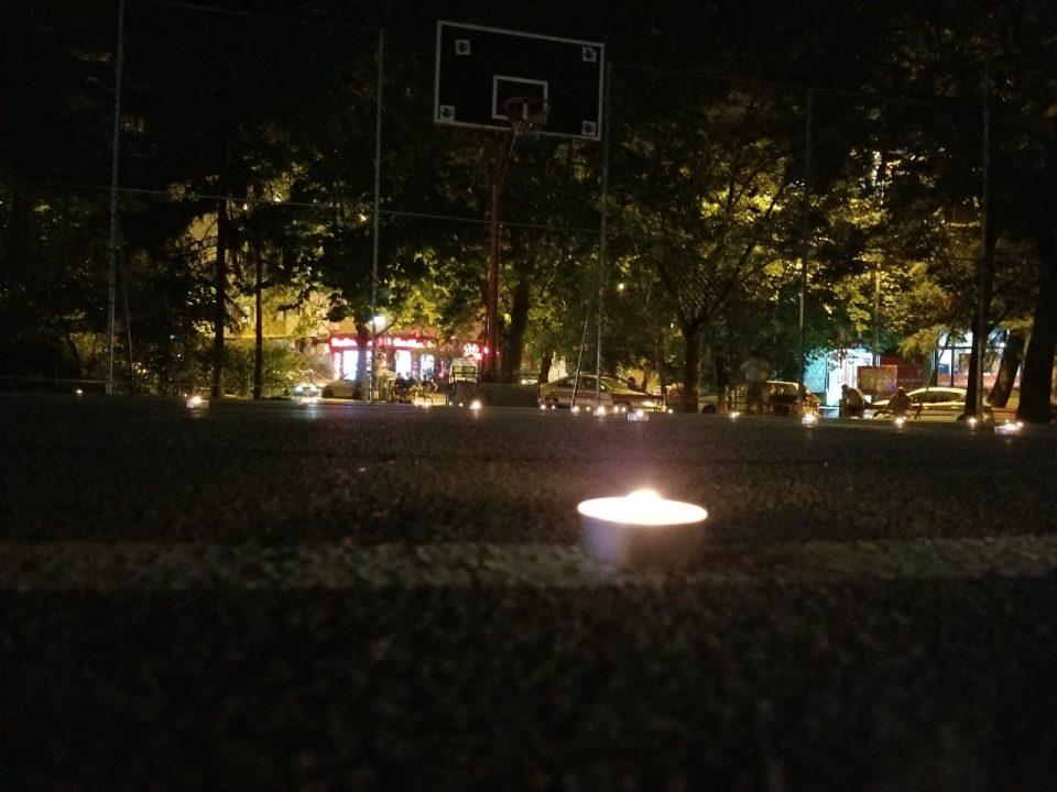 Кошаркарско игралиште во Автокоманда остана без осветлување, од УМС на ВМРО-ДПМНЕ испратија порака (ФОТО)