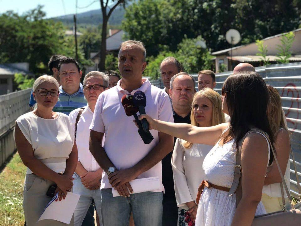 ВМРО-ДПМНЕ ОК Карпош ќе застане на страната на жителите на Трнодол и Жданец, бараат повлекување на спорниот ДУП од Богоев