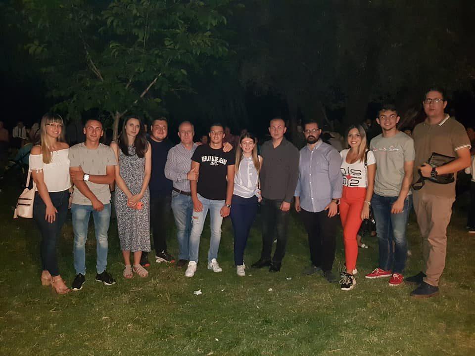 УМС на ВМРО-ДПМНЕ во Карбинци во пресрет на утрешниот празник