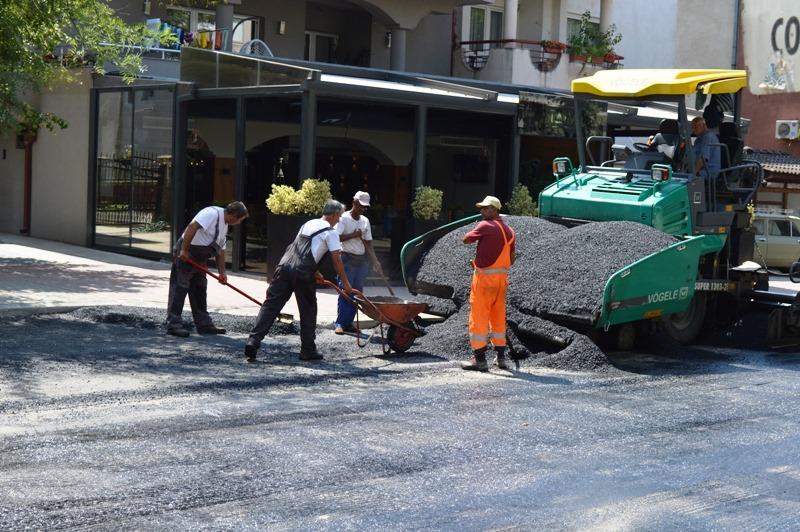 Асфалтирана една од најголемите улици во Кавадарци