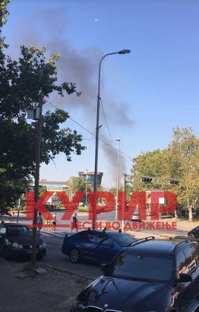 Детали од ЈСП за автобусот кој се запали во Ѓорче Петров (ФОТО+ВИДЕО)