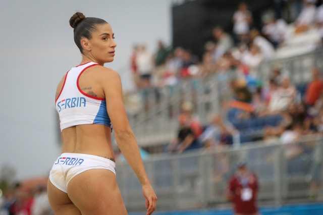 Најубавата атлетичарка во Европа ќе биде главна ѕвезда на тимското ЕП во Скопје!