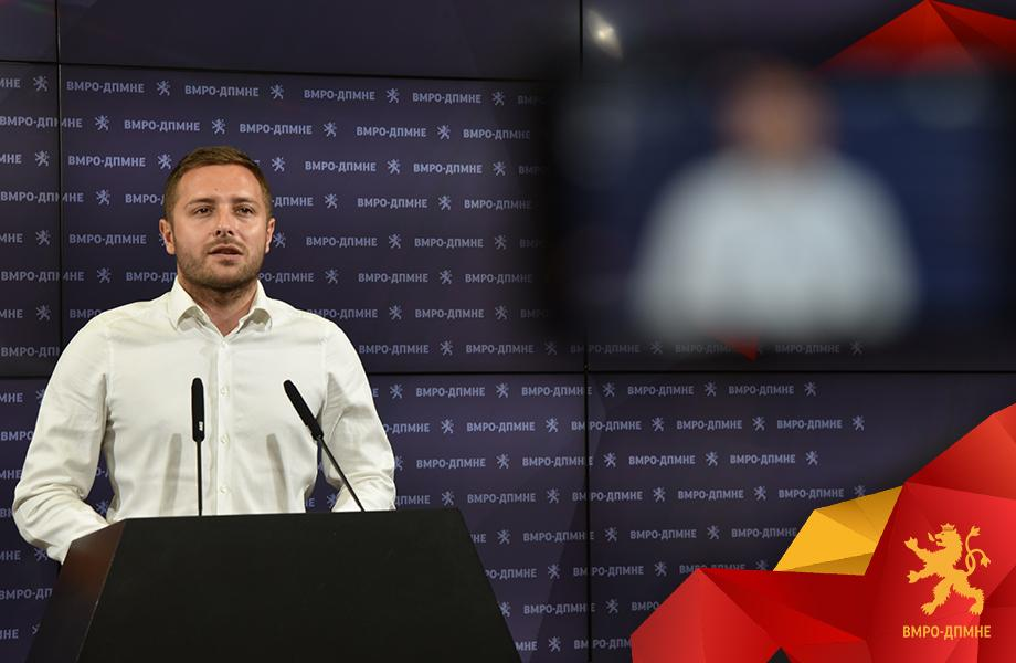 Арсовски: Откако Русковска ја потврди веродостојноста на исказот, целата криминална банда од СДСМ побрза да се заканува до медиумите со тужби