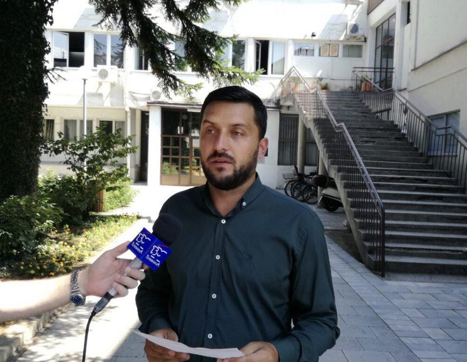 ВМРО-ДПМНЕ ОК Охрид: СДСМ и градоначалникот Константин Георгиески спроведуваат брутална партизација на администрацијата