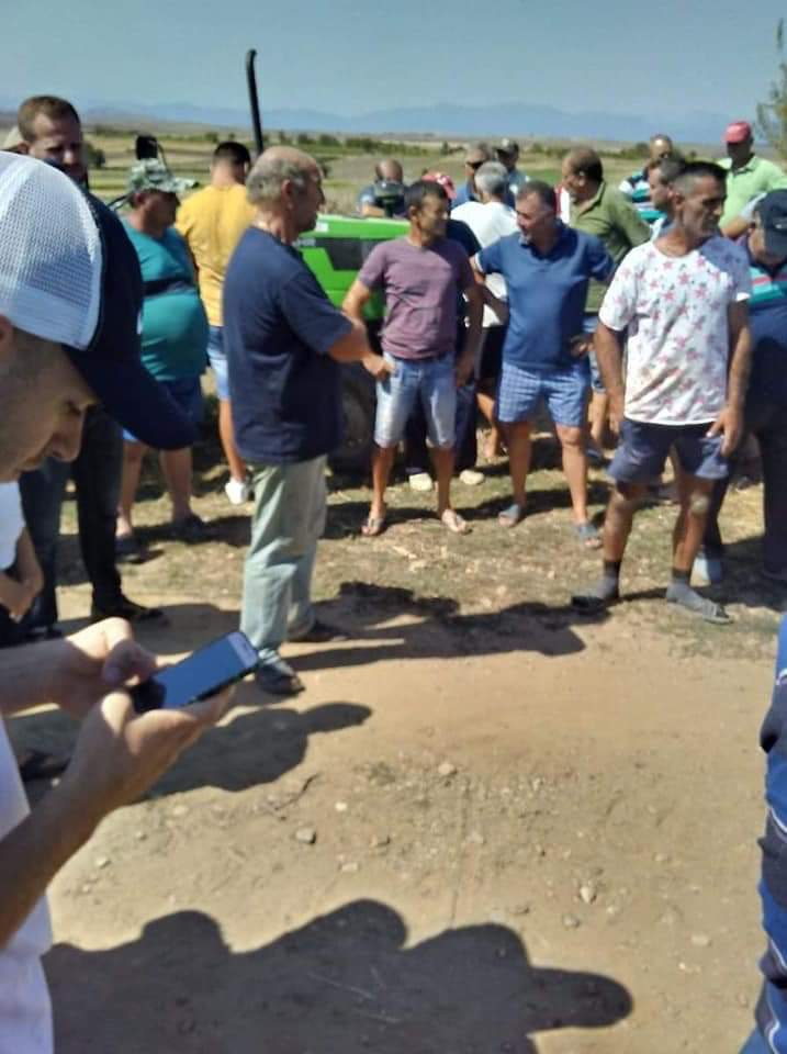 Цело село оставено без вода за наводнување- Земјоделците оставени на немилост