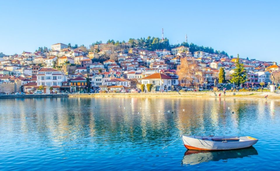 Вински тераси во Охрид