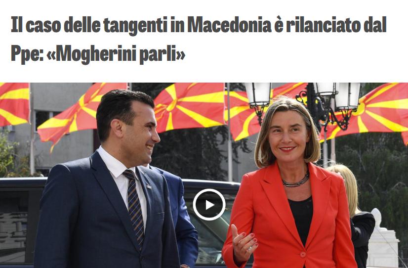 """НА РЕКЕТОТ МУ НЕМА КРАЈ: """"Македонија ја тресе политички земјотрес, јавноста се прашува зошто Могерини молчи, ЕУ веднаш да реагира"""""""