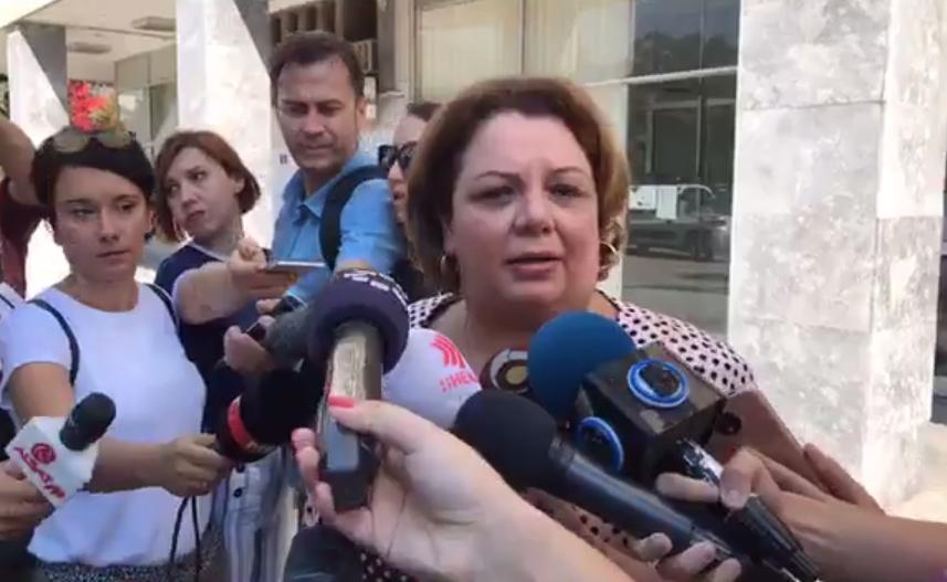 """Катица Јанева се појави на распит за """"Рекет"""" во ОЈО: Се надевам дека со моите аргументи и со мојата изјава ќе ја забрзам истрагата"""