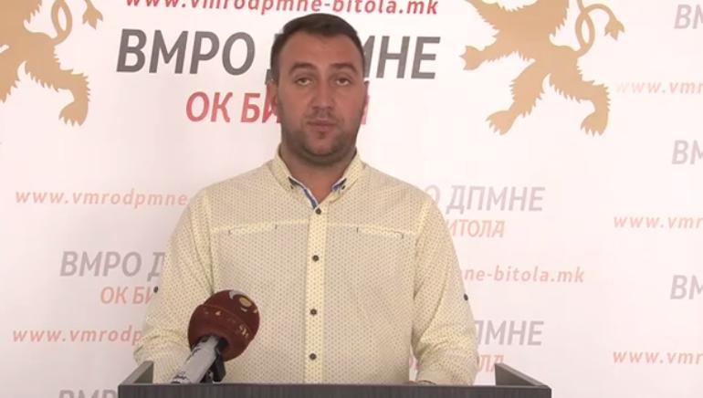 Степановски: Неспособноста за практикување на власта на локално ниво во Битола се повеќе излегува на дело- оставка од директорот на ЈП Комуналец