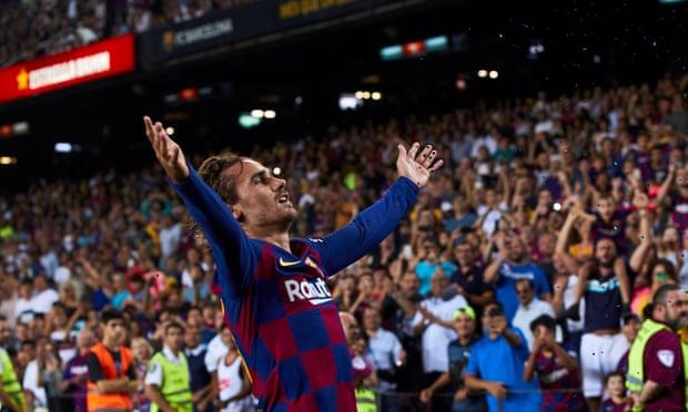 Гризман двоен стрелец во триумфот на Барселона над Бетис
