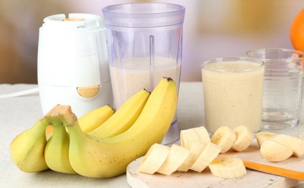 Млеко и банана за мирен сон