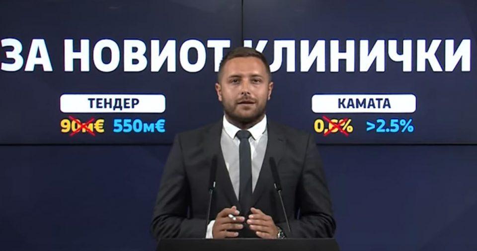 Арсовски: Зоран Заев и Венко Филипче ја подготвуваат најголемата пљачка на Македонија во вредност од половина милијарда евра