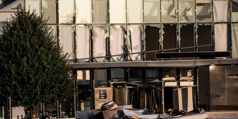 Експлозија во даночната служба во Копенхаген