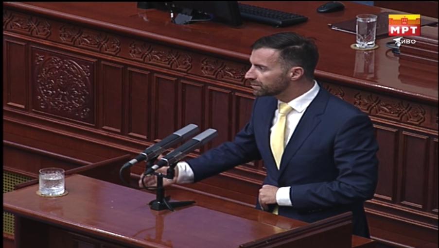 Димовски до Заев: За доброто на државата време е да си поднесете оставка и оваа политичка агонија да заврши!