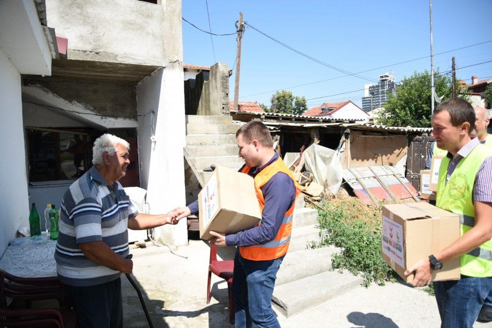 Општина Центар донираше по повод празникот Курбан Бајрам