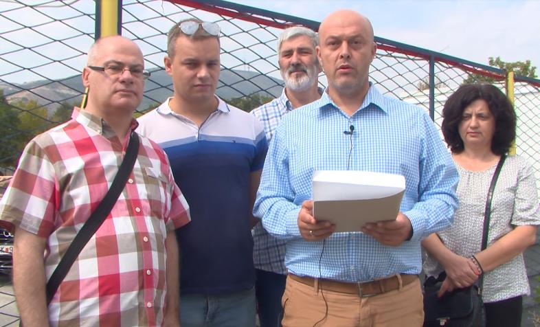 Антовски: Дали Марин го заборави предизборното ветување дадено на граѓаните на општина Аеродром или целта му беше да ги измами