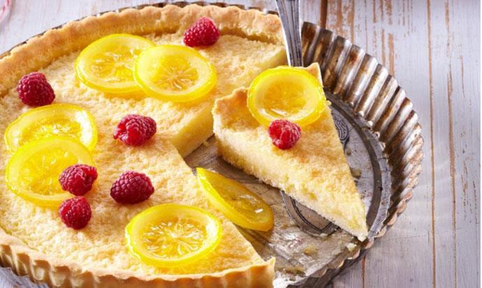 Не се пече: Освежителна торта со лимон