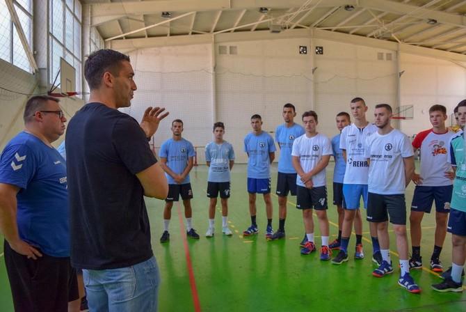 Лазаров: Ќе соработуваме со македонските клубови за доброто на нашиот спорт и ракомет