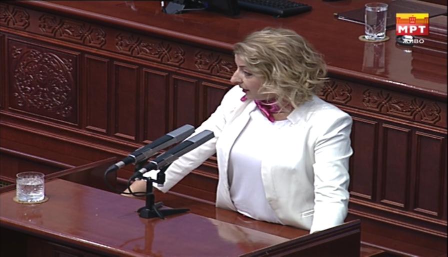 Ласовска: Денес требаше да разговараме за оставка на Влада, а не за мини реконструкција