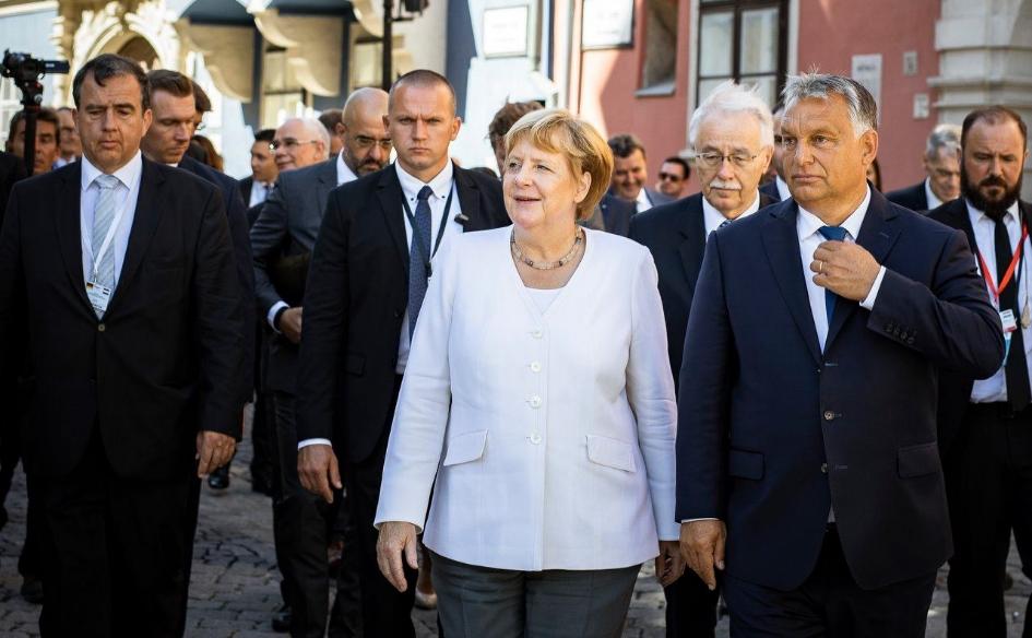 Николоски за средбата Меркел-Орбан: Нивните политики за економски развој и демохристијански вредности се иднината на ВМРО-ДПМНЕ и на Македонија