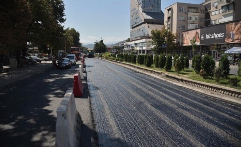"""Булеварот """"Крсте Мисирков"""" денеска затворен за сообраќај"""