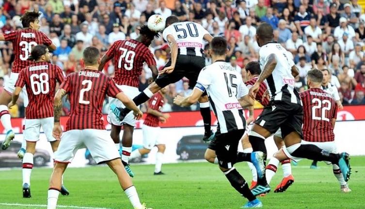 Победничко враќање на Несторовски во Серија А, Удинезе го совлада Милан (ВИДЕО)