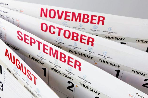 Ова сигурно не сте го забележале: Голема грешка во календарите, месеците имаат погрешни имиња